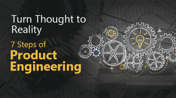 Turn Your Thought to Perfect Solution in Simple 7 Steps of Product Engineering