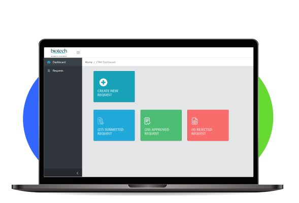 How We Helped Biotech Build a License Management Portal in 60 Days