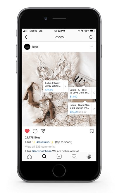 instagram shoppable posts to grow your B2C e-commerce sales