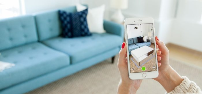 IKEA AR app on how to grow your monthly e-commerce sales